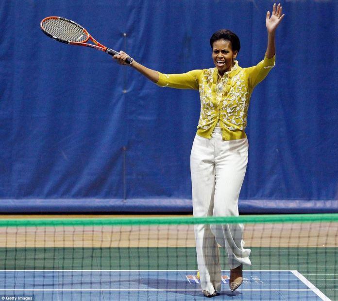 tenis obama