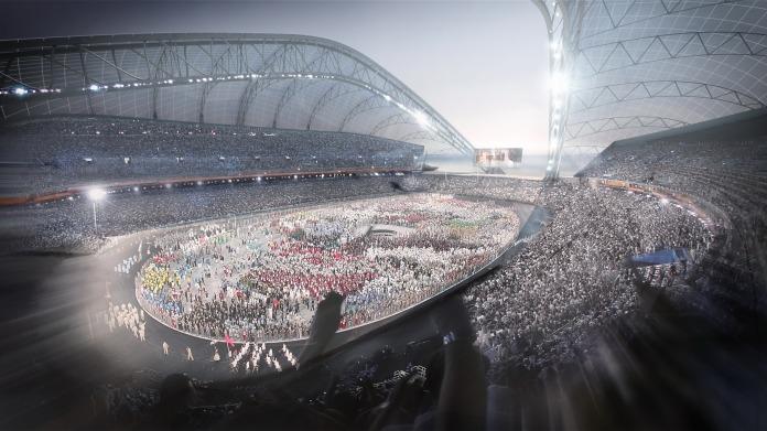 stadionul olimpic de la soci