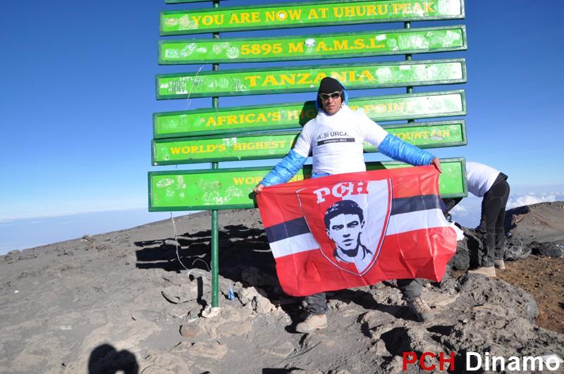 phc dinamo vieru pe kilimanjaro