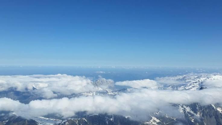 vedere de pe mont blanc