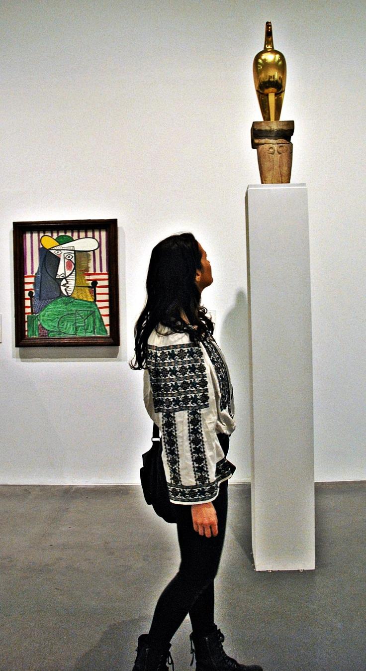 mijlocind intalnirea dintre ia de gorj si maiastra lui brancusi la tate modern gallery londra