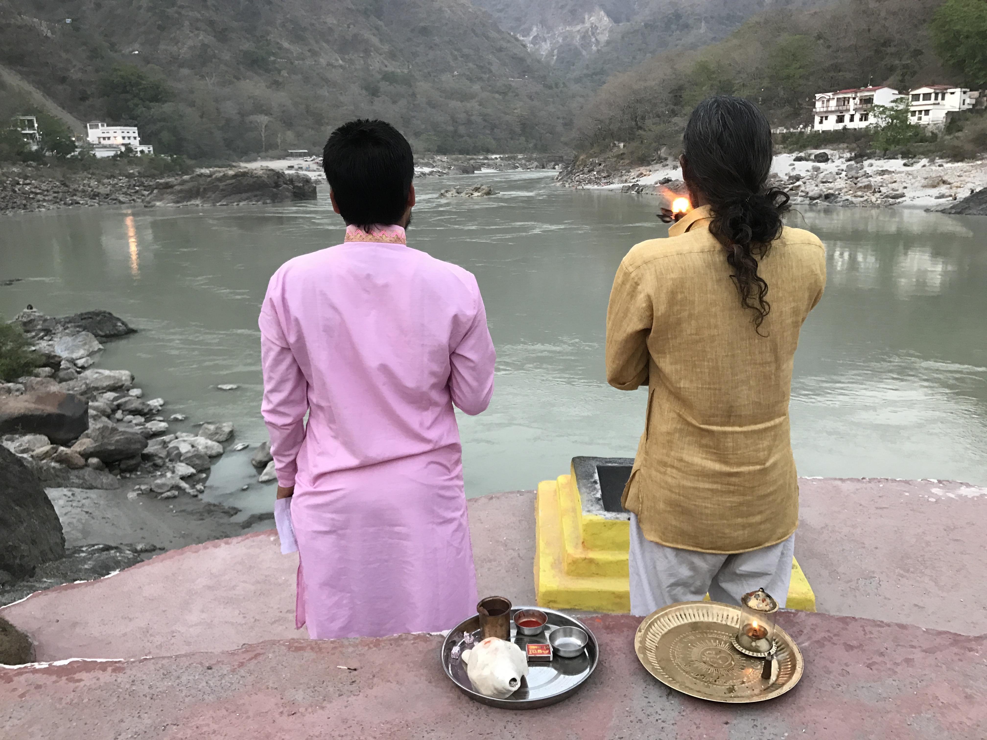 O săptămână-n India la ashram