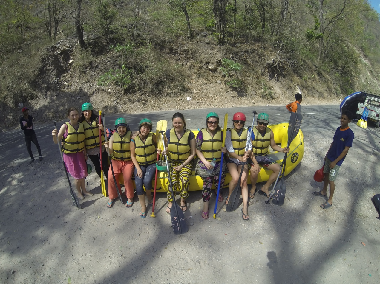 Rafting pe Gange