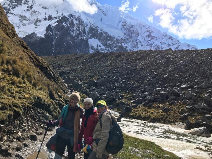 Trekking Salkantay ziua 2, cea mai lunga, cu Laura si Luiza-Foto Clara Duran